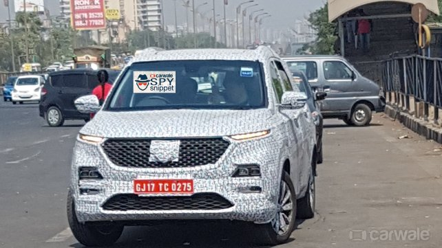 MG Hector spied testing in Mumbai ahead of India launch