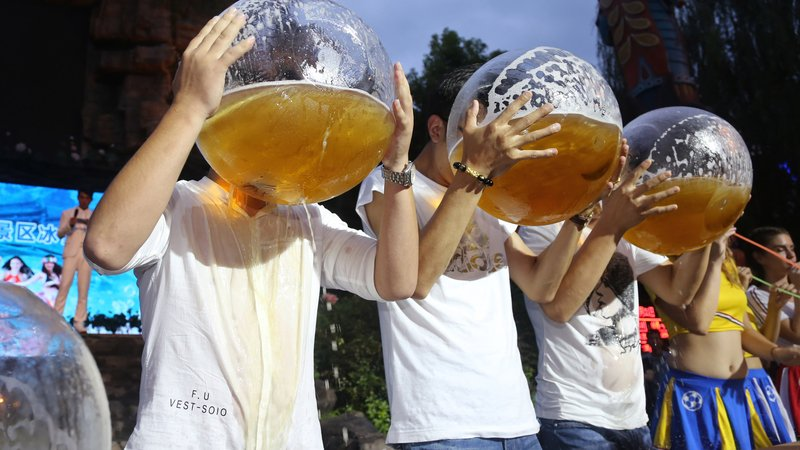 China and India drive rise in global alcohol intake