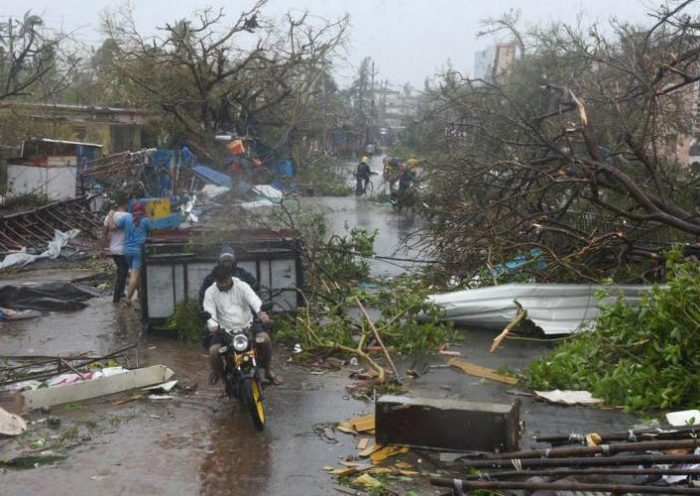 Early evacuation in India spares more than 1 million from deadly cyclone