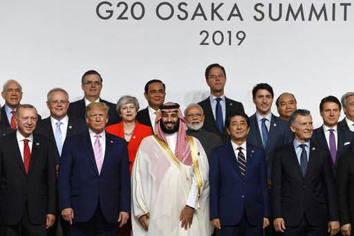 G-20 leaders facing calls to protect growth, open trade