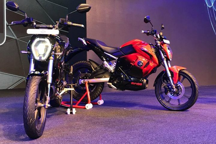 Revolt RV 400 Unveiled; Becomes India's First Fully Electric Motorcycle