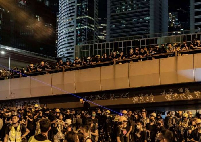 Hong Kong protests become flashpoint in information war between China and U.S.