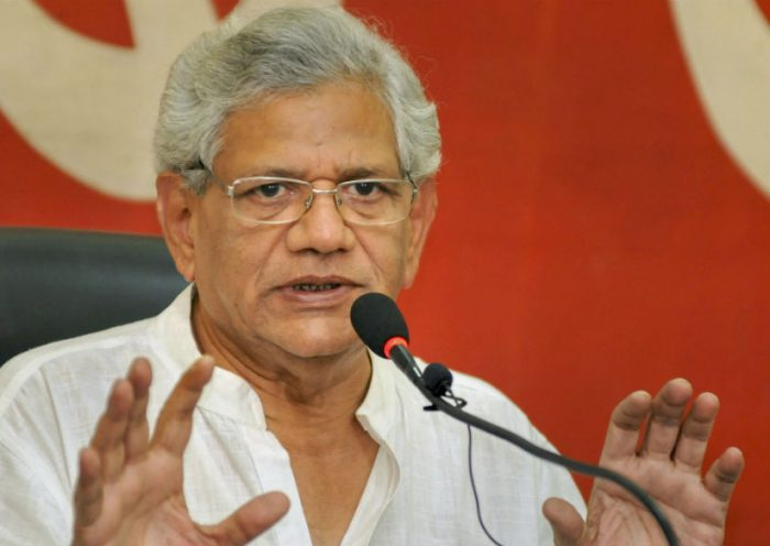Govt Trying to Convert Jammu and Kashmir into India's Palestine, Says CPM's Sitaram Yechury