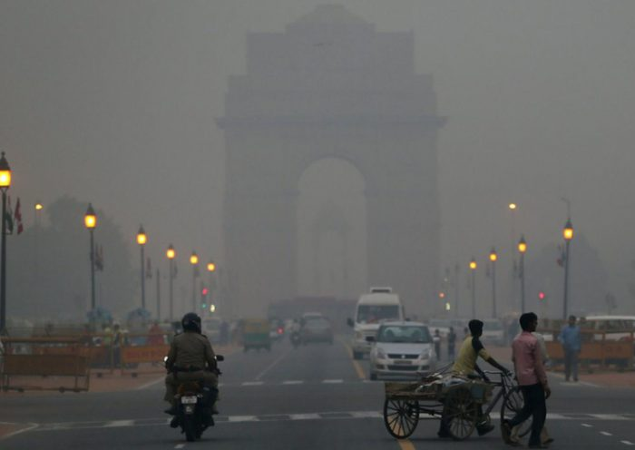 Air pollution in Delhi drops 25% in four years
