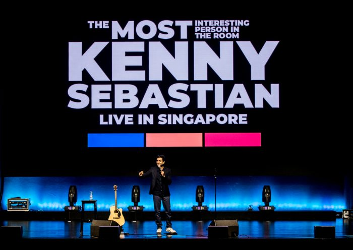 In Pics: Kenny Sebastian leaves Singapore in splits