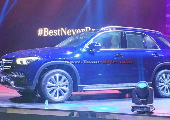 2020 Mercedes GLE BS6 showcased to dealers in India – Engine specs
