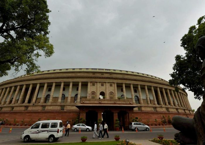 Parliament: Congress moves adjournment notice in Lok Sabha in protest against Maharashtra crisis