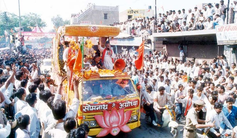 Opening up the locked gates of Babri Masjid for Hindus to worship in 1986, became the key to the rise of India's Right