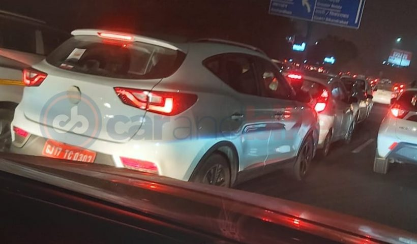 MG Motor EZS Spotted Testing In India Sans Camouflage