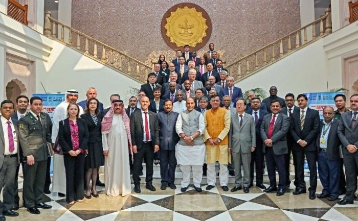 Rajnath Singh reaches out to diplomats of 80 countries, pushes for Indian defence equipment