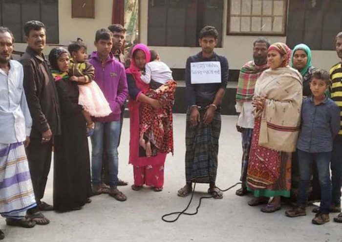 21 detained while entering Bangladesh from India
