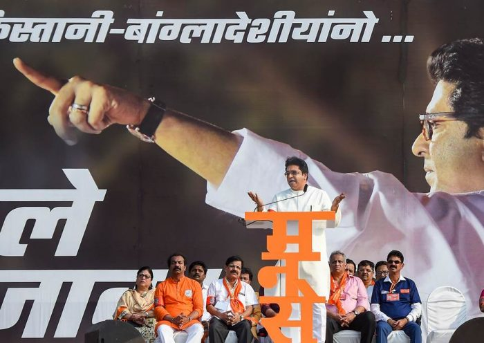 Stone for stone, sword for sword — Raj Thackeray targets Muslims at Mumbai rally