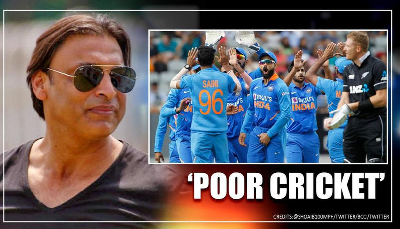 Shoaib Akhtar Criticises India's Bowling Lineup After Facing Defeat Against NZ In 2nd ODI