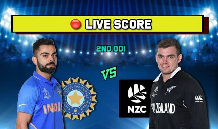 Live Cricket Score India vs New Zealand, 2nd ODI, Eden Park, Auckland: Reckless New Zealand Collapse Against Impeccable India