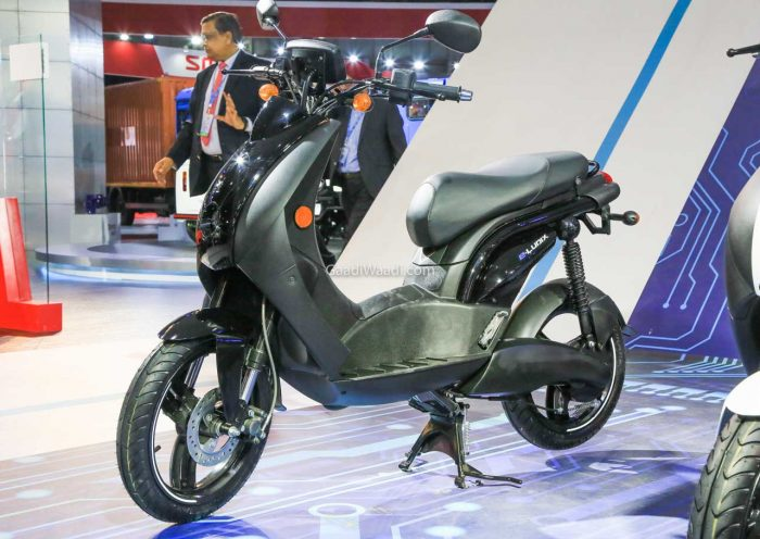 Made-In-India Mahindra E-Ludix Electric Scooter Debut At 2020 Auto Expo