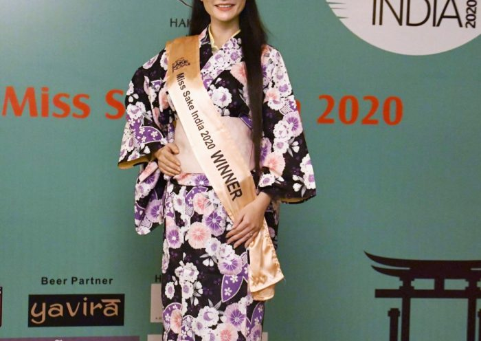 "1st ""Miss Sake India"" selected to promote Japanese rice wine"