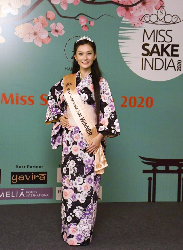 """1st """"Miss Sake India"""" selected to promote Japanese rice wine"""